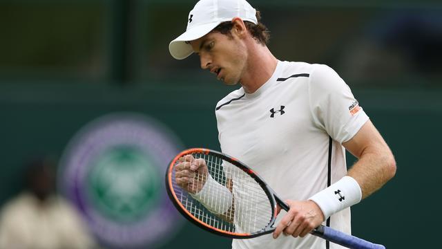 Murray naar vierde ronde Wimbledon, oud-winnares Kvitova naar huis