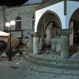 Zware aardbeving treft Turkije en Griekenland
