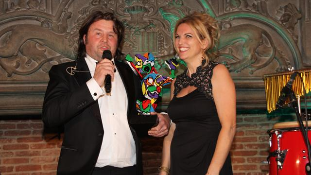 Reza Smit Bergse ondernemer van het jaar