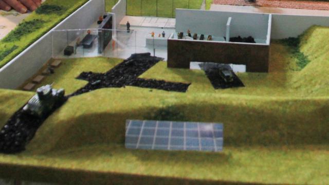Overzicht: Het voorlopig ontwerp van het Generaal Maczek Memorial