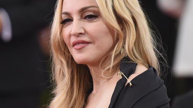 Madonna in Londen op pad met Rocco