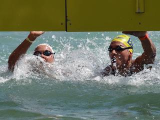 Nederlandse finisht als vierde in Balatonmeer
