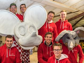 Carnavalsclub doet me aan Roosendaalse èn Rucphense optocht