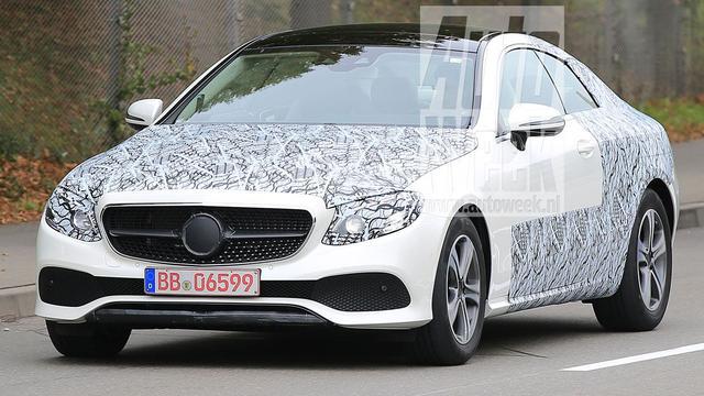 Spyshots Mercedes-Benz E-klasse Coupé