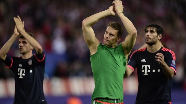 Neuer hekelt gebrek aan agressiviteit en moed in eerste helft Bayern