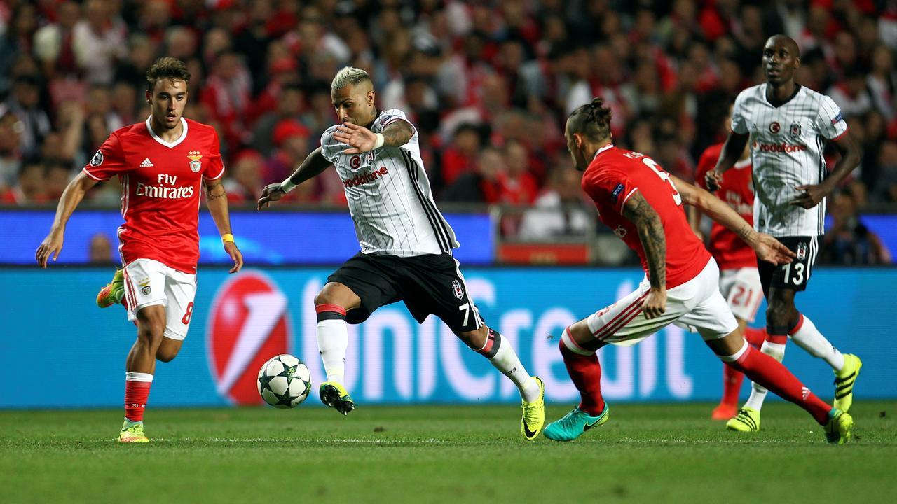 Samenvatting Benfica-Besiktas (1-1)