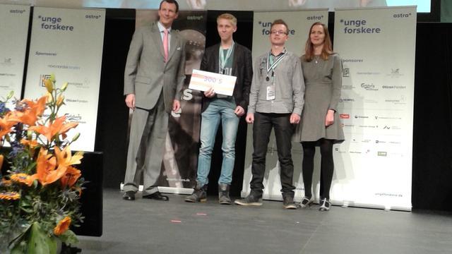 Zeeuwse scholieren winnen wetenschapsprijs in Kopenhagen