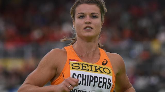 Schippers loopt 200 meter bij FBK Games