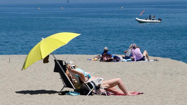 Stem op strand van Schouwen-Duiveland
