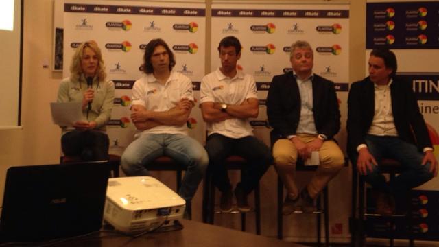 Plantina hoofdsponsor sprintploeg Van Velde en allroundploeg Romme