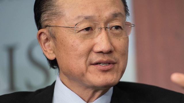 Jim Yong Kim blijft president bij Wereldbank