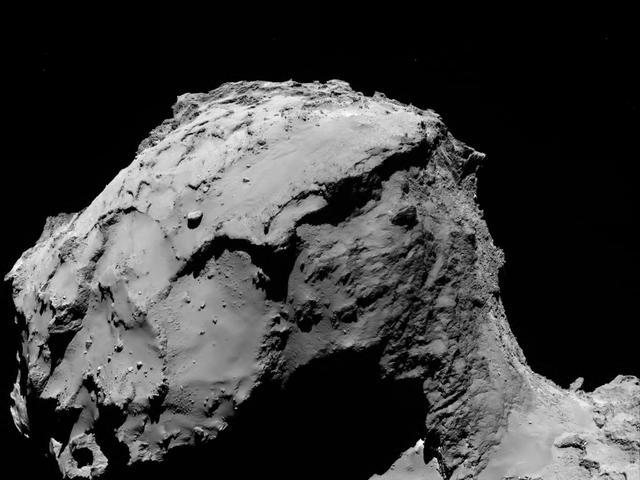 Ruimtemissie Rosetta eindigt na neerstorten sonde op komeet 67P