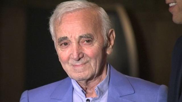 Charles Aznavour krijgt ereplaquette in Hollywood
