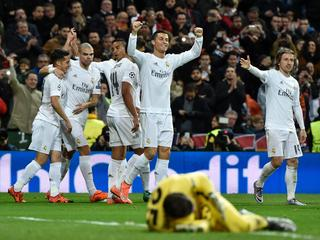 Ronaldo en Rodriguez scoren voor 'Koninklijke' in Bernabeu