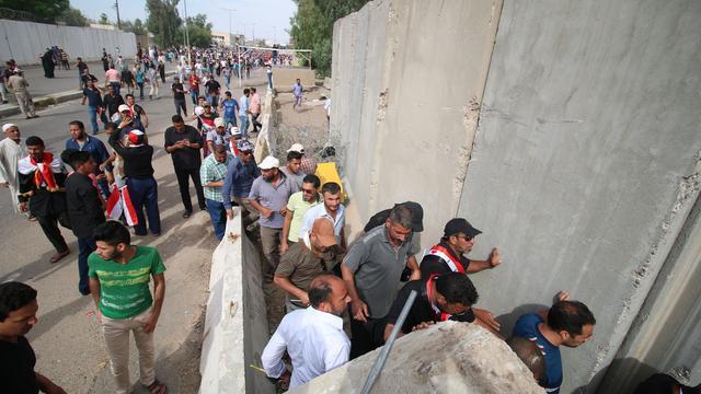 Betogers vertrekken uit Iraaks parlement