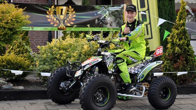 Valentino Roks Nederlands kampioen quadrijden