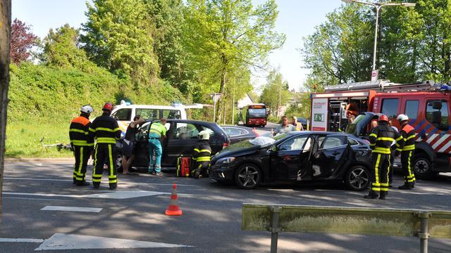 Automobiliste gewond bij ongeval op kruising Bergrand