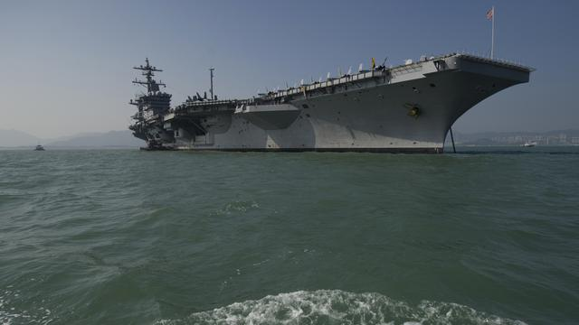 Noord-Korea 'klaar voor oorlog' na komst marineschepen VS