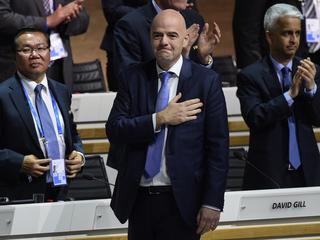 'We moeten trots op de FIFA zijn en op wat we samen gaan doen'