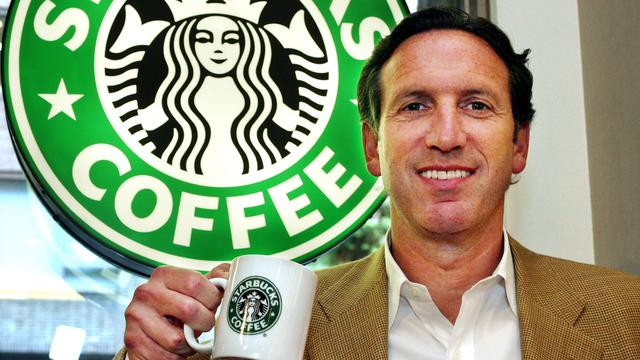 Topman Howard Schultz van Starbucks treedt terug