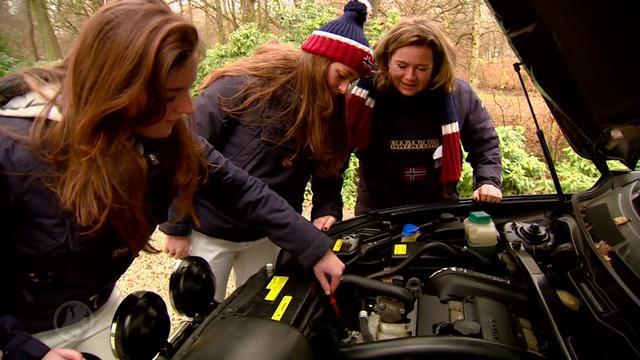 Moeder en dochter beginnen aan helse Noordkaap Challenge