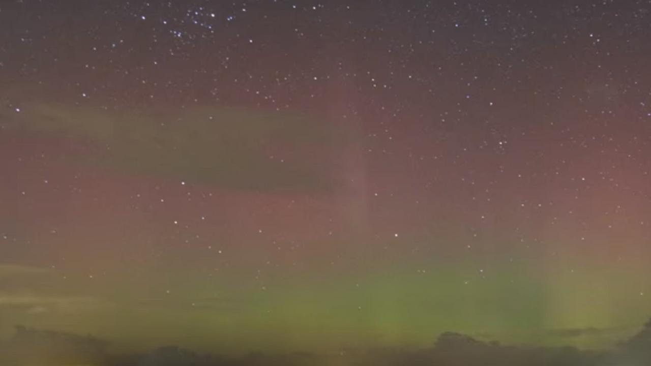 Noorderlicht te zien in noorden van Nederland