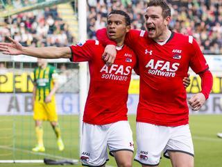 Alkmaarders verkleinen gat met nummer drie Feyenoord tot vier punten