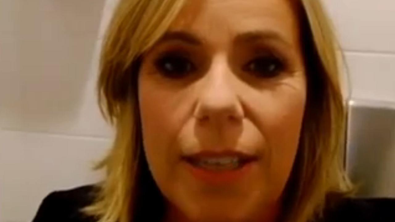 Presentatrice Selma van Dijk vast op wc tijdens Hart van Nederland