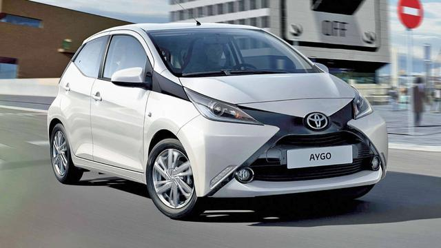 Rijd al vanaf 7 euro per dag in een Toyota AYGO