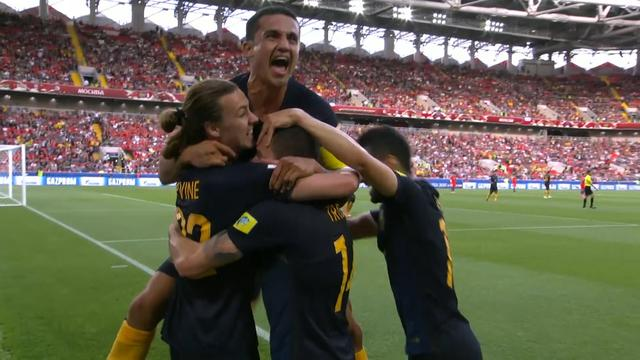 Chili en Australië in evenwicht (1-1) op Confederations Cup