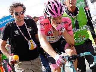 Nederlander van Lotto-Jumbo zakt naar derde plaats in algemeen klassement