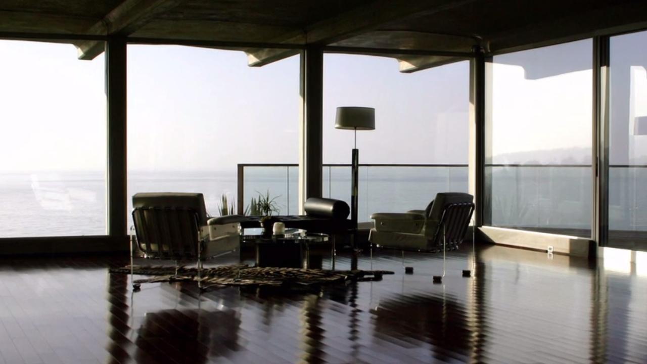 Binnenkijken bij het huis van Brad Pitt in Malibu
