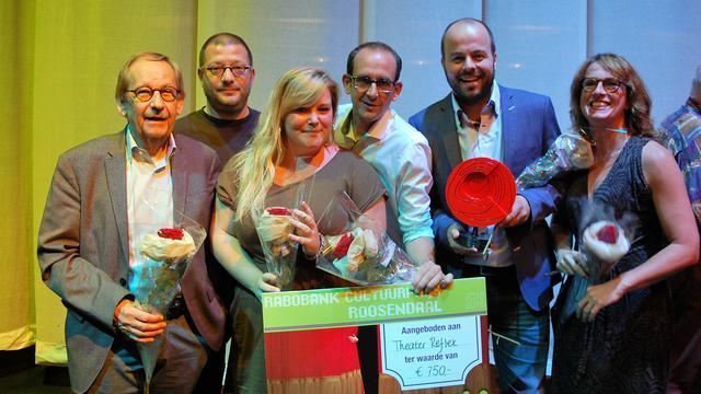 Theatergroep Reflex wint de Rabobank Cultuurprijs 2015-2016