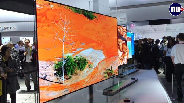 LG brengt superdunne 'behang-tv' naar Nederland voor 8.000 euro