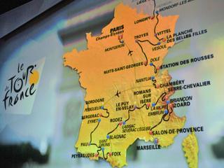 104e Ronde van Frankrijk kent zes etappes met finish bergop
