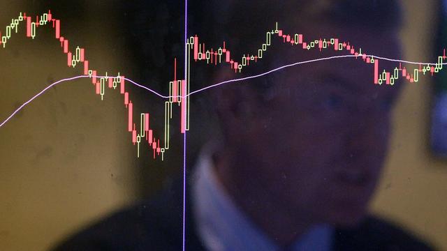 Aandelenbeurzen New York sluiten met klein verlies