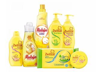 Een box vol Zwitsal producten met een prijsje net zo zacht als een Zwitsal-huidje