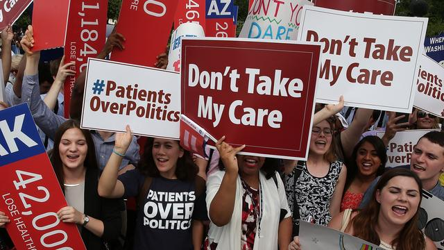 Trump komt niet van Obamacare af: Is er een plan B?
