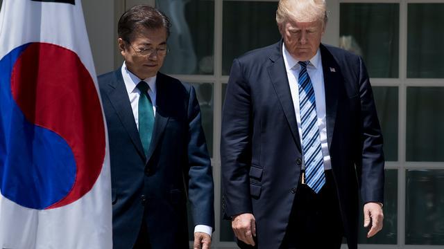 Trump wil bondgenootschap met Zuid-Korea hernieuwen
