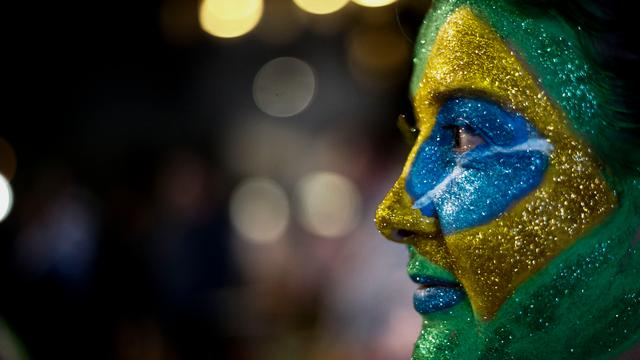 Braziliaanse economie opnieuw gekrompen