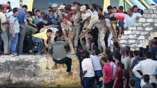 Aantal doden scheepsramp voor kust Egypte opgelopen naar 202