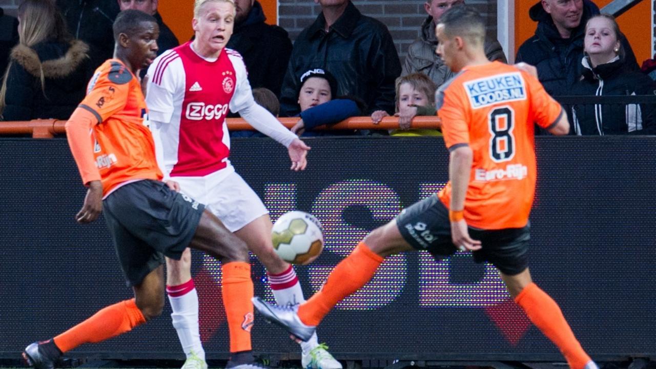 Bekijk de samenvatting van FC Volendam-Jong Ajax
