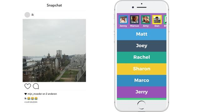 Snapchat en Yo
