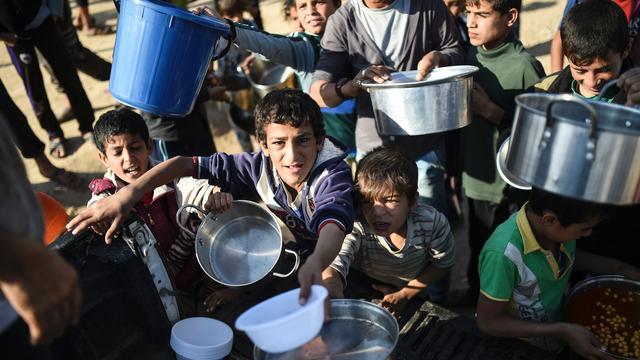 VN rekent op recordbedrag van 21 miljard euro voor humanitaire hulp
