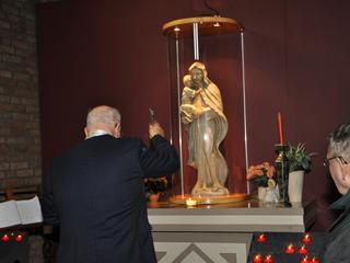 Op feestdag van de Onbevlekte Ontvangenis van Maria