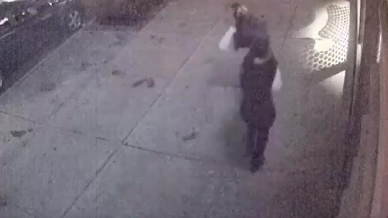 Mensen rennen weg na explosie Manhattan