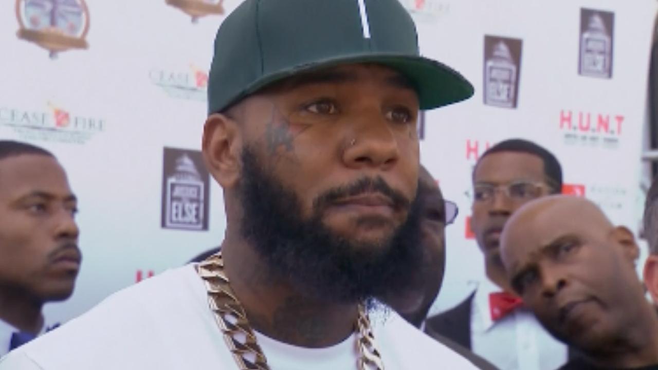 Rapper The Game praat met bendes over geweld LA