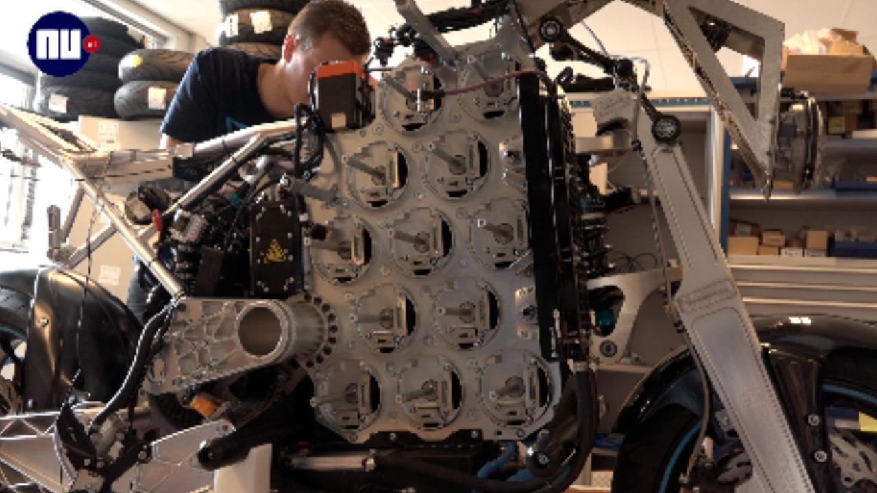 TU Eindhoven bouwt elektrische motor om wereldreis te maken