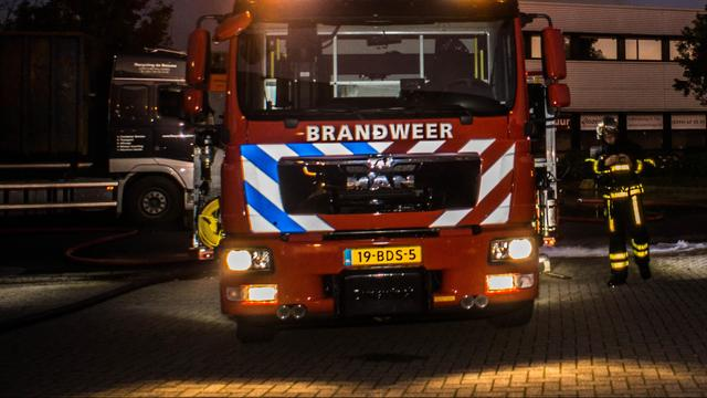 Brand verwoest café The Harbour Club in Olympisch Stadion