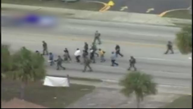 Aantal mensen vrijgelaten bij bankoverval Jacksonville, Florida